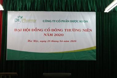 ĐẠI HỘI ĐỒNG CỔ ĐÔNG THƯỜNG NIÊN NĂM 2020 CÔNG TY CỔ PHẦN DƯỢC KHOA