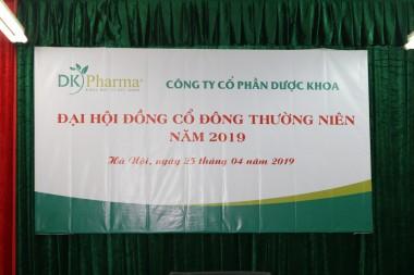 Biên bản và nghị quyết họp Đại hội đồng cổ đông năm 2019
