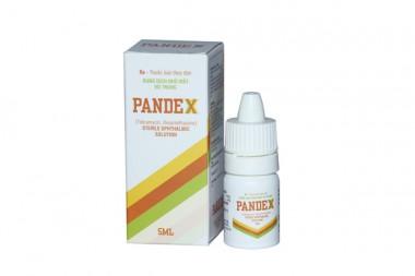 Thuốc nhỏ mắt PANDEX