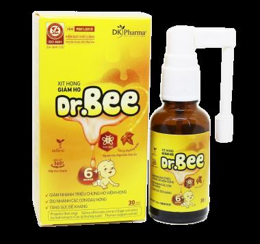 Xịt họng giảm ho 360 độ DR.BEE