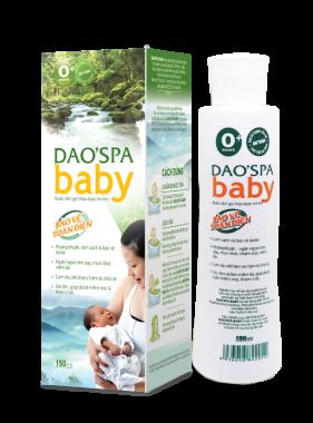 DAO'SPA BABY - Nước tắm gội thảo dược trẻ em