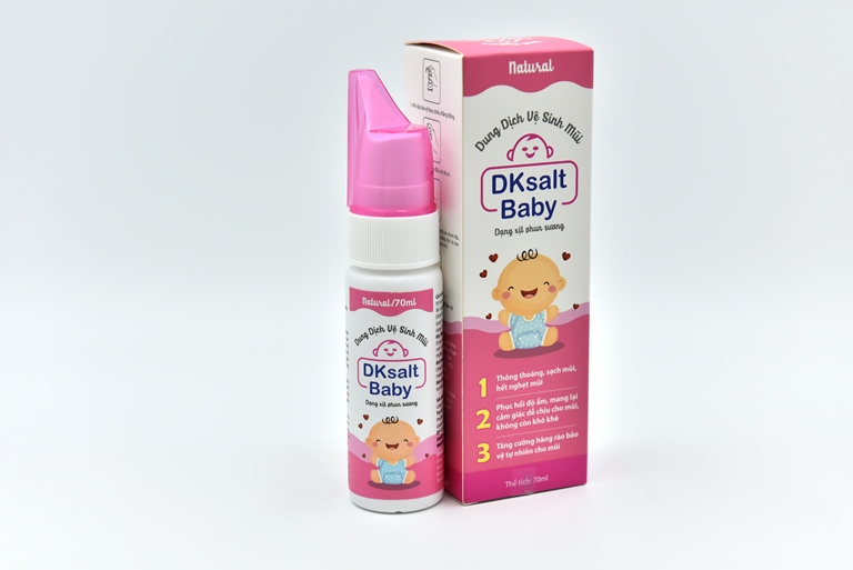 Dung dịch vệ sinh mũi DKSALT BABY